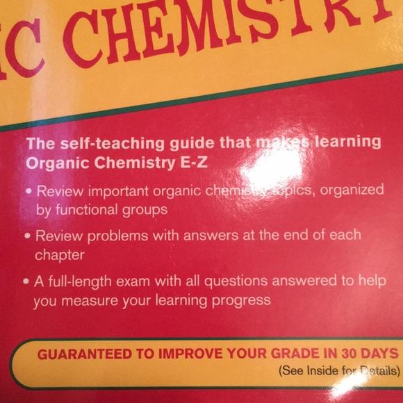 E-Z Organic chemistry book